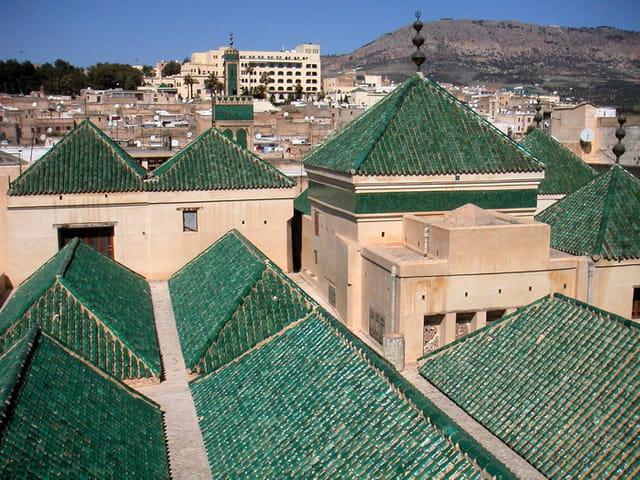 Toits de la mosquée karaouiyne