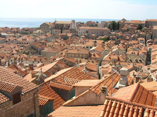 Toits de la vieille ville