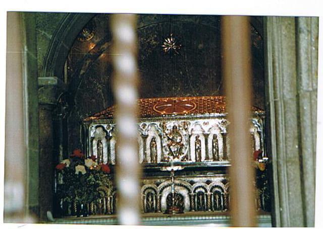 tombeau de l'apôtre St Jacques de Compostelle