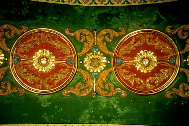 Tombeau mamelouk, riche décoration.