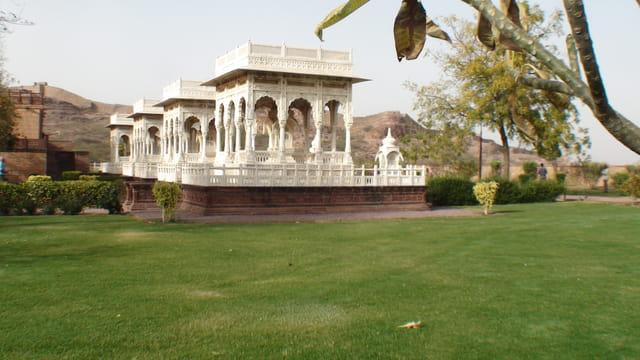 tombeaux de famille royale à Jodhpur