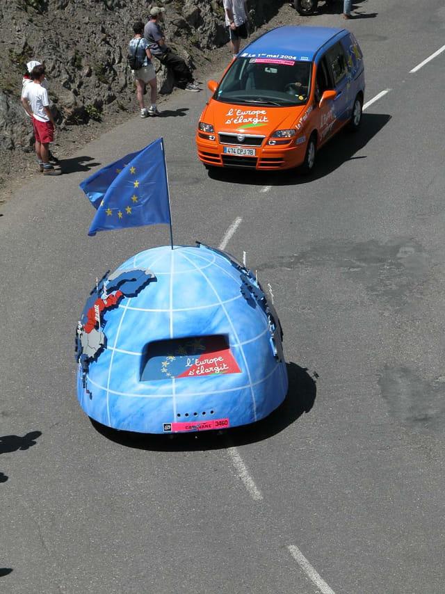 Tour 2003 montée du Galibier 3