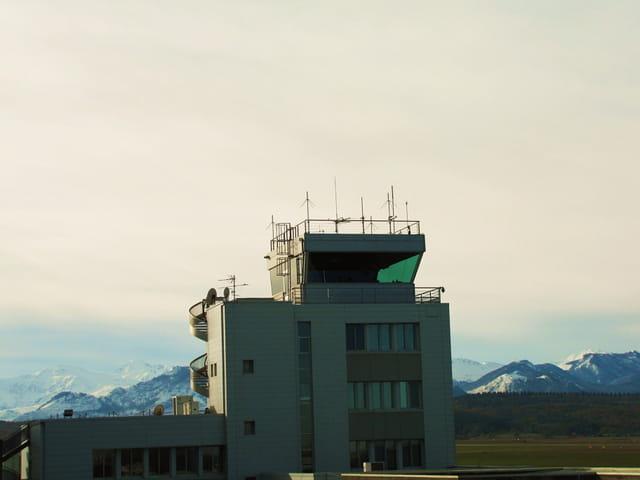 Tour de controle - Aéroport Tarbes-Lourdes-Pyrénées.