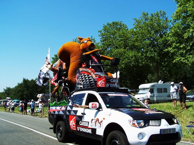 Tour de France - Caravane PUB.