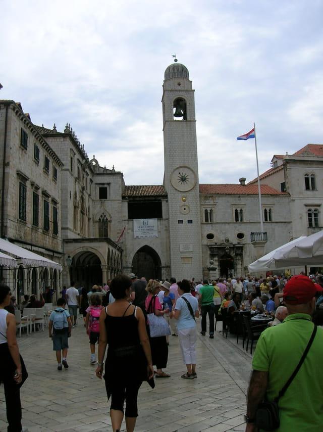 Tour de l'horloge Dubrovnik