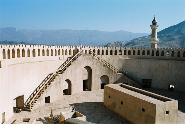 Tour du fort de Nizwa