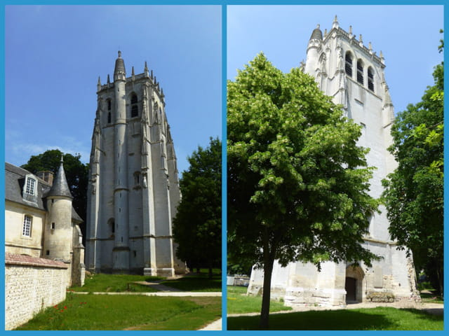 Tour St Nicolas - Abbaye du Bec Hellouin