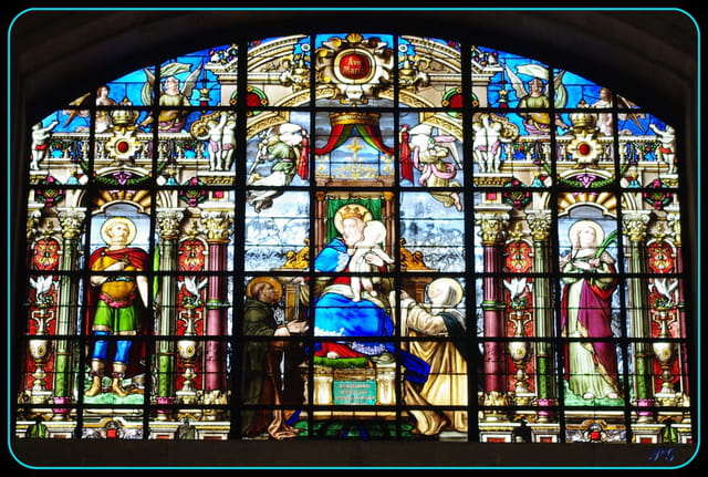 tout l'art du vitrail : Avé Maria.