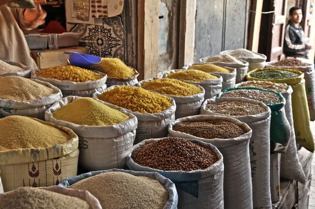 Toutes sortes de graines ou farines