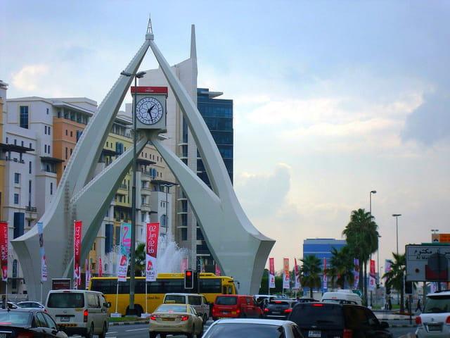 tower clock dubai