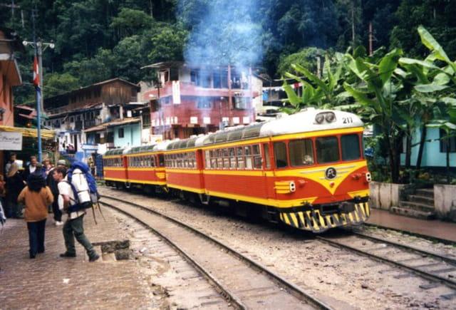 Train à aguas calientes