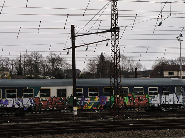 Train d'Europe - Gare de LOURDES - Tags.