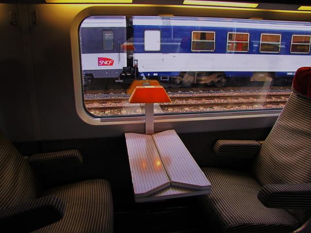 Train S.N.C.F. - TGV.