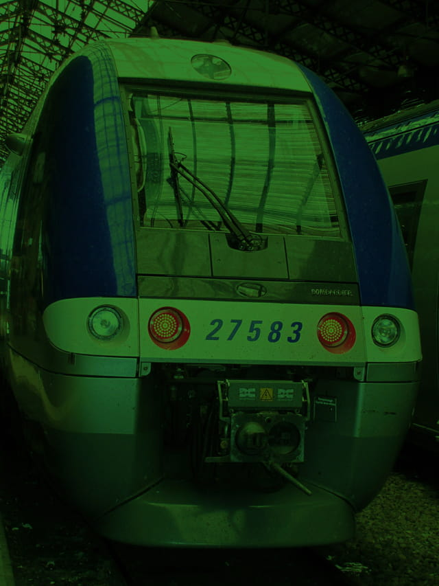 Train SNCF.