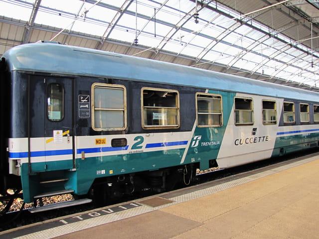Trains d'Europe. ITALIE.