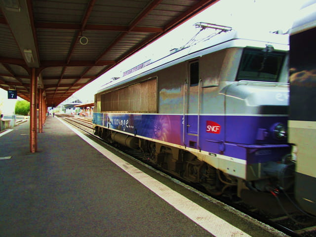 Trains et Wagons - Europe - Lourdes.