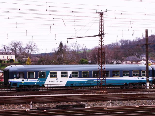 Trains - Wagon italien.
