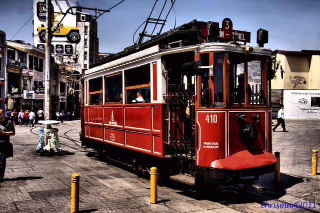 Tramway(Taskim tunel)...Istanbul