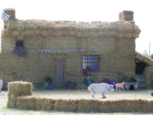 Tr s originale cette fa ade de maison par christine for Facade maison originale