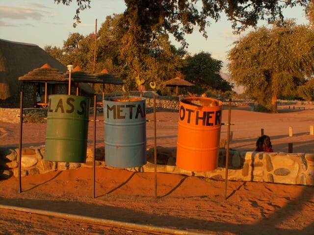 Tri sélectif en Namibie