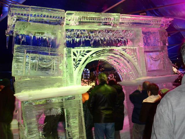 Triomphe glacé