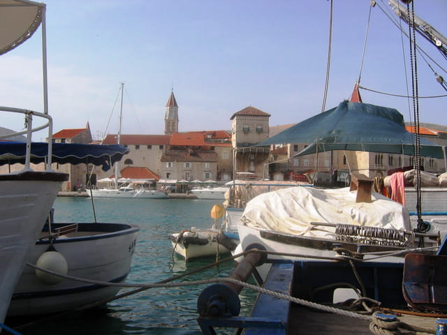 Trogir en Croatie