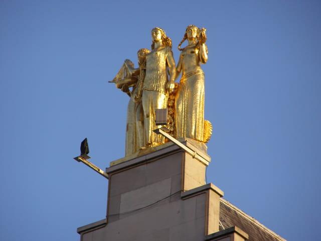 Trois femmes en or à 46 mètres d'altitude