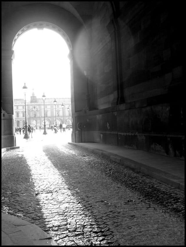 Trouée de lumière