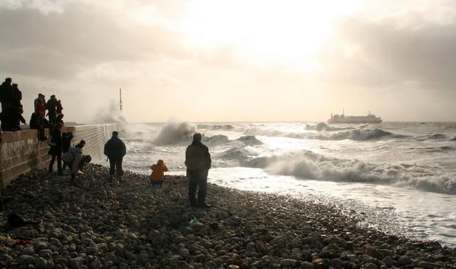 Tempête au Havre