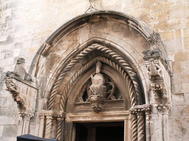 Tympan cathédrale