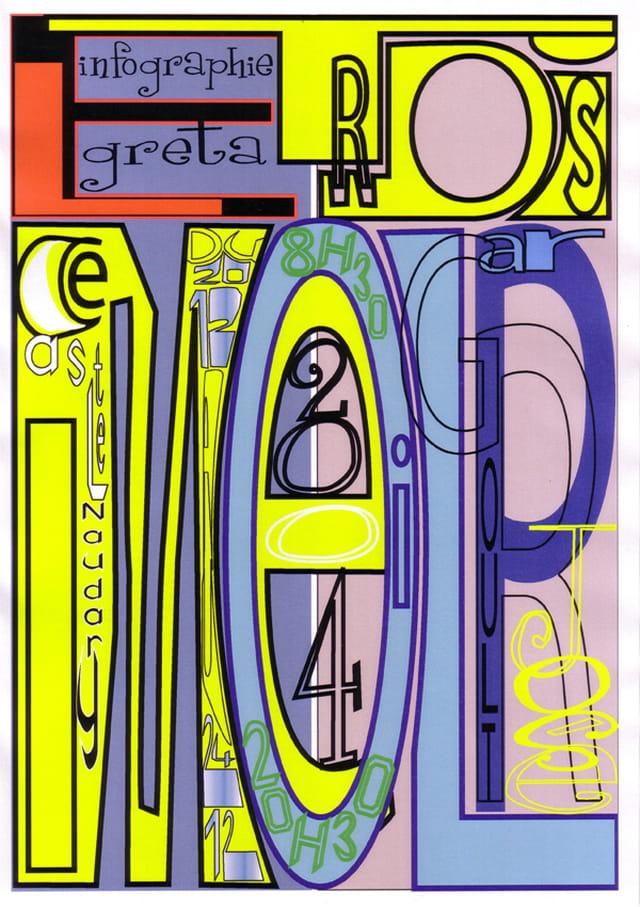 Typographie/vectoriel
