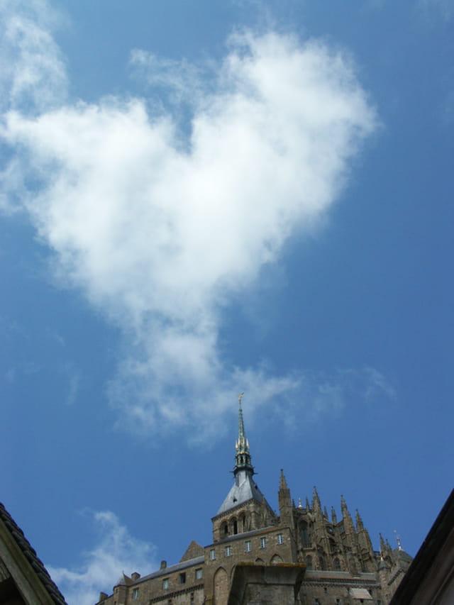 Un amour de ciel au Mont Saint-Michel