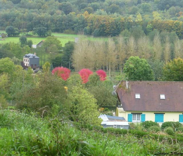 un après midi d'automne en normandie...