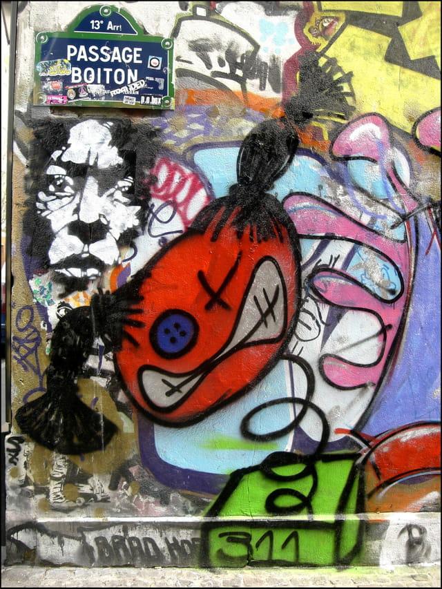 Un art urbain loin des nuances