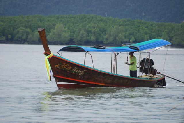 un bateau Thaï