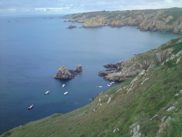 Un beau paysage de Bretagne