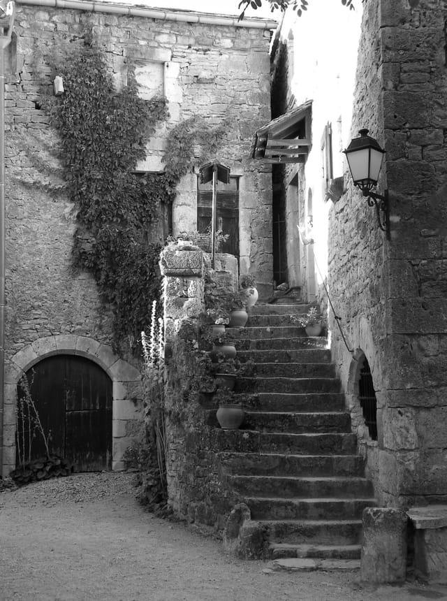 Un beau village médiéval