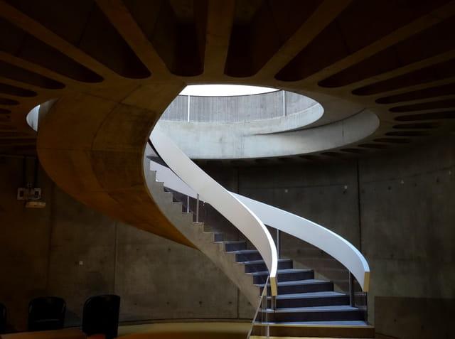 Un bel escalier