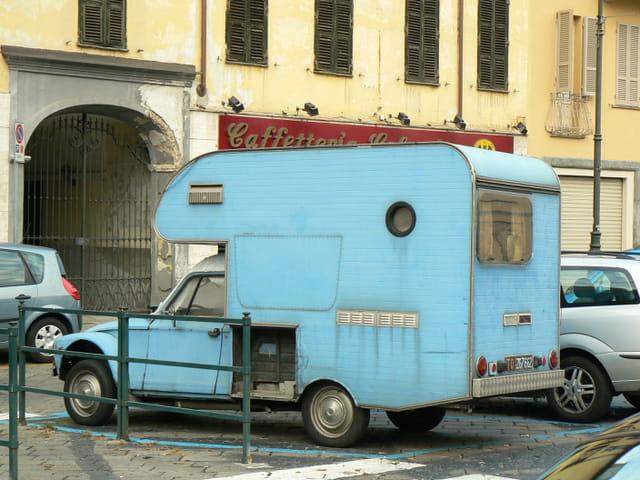 Un camping-car étonnant!