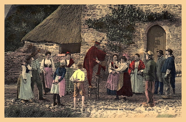 Un charlatan au village
