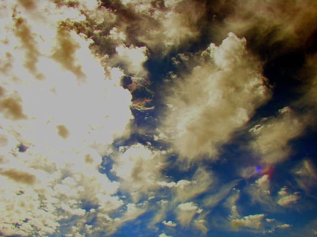 Un ciel étrange