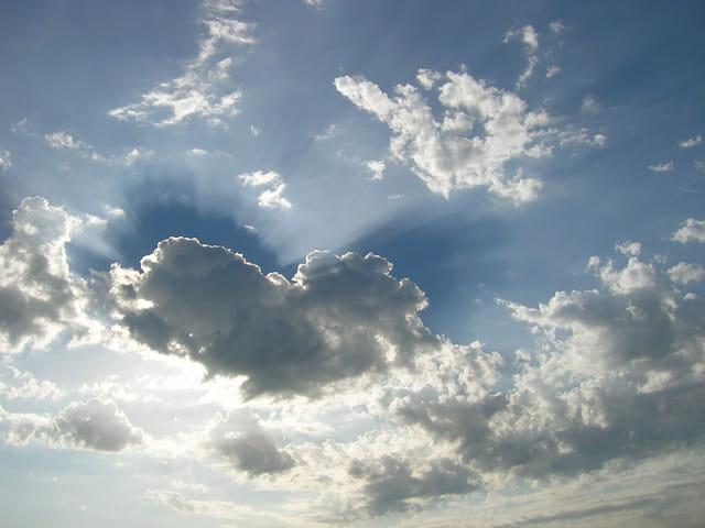 Un ciel menaçant