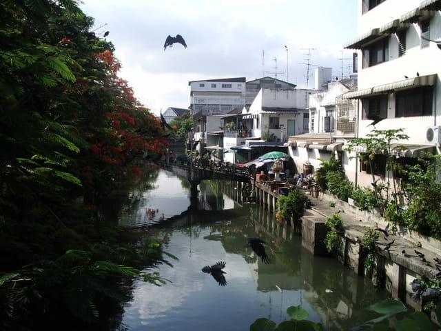 Un des canaux de Bangkok
