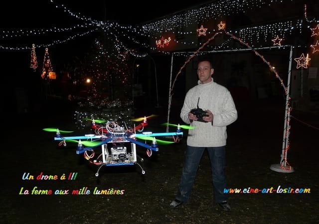 Un drone à la ferme aux mille lumières by JC Guerguy