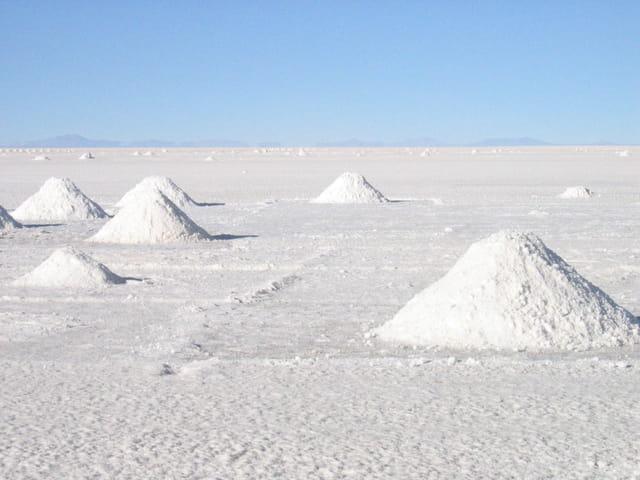 Un lac de sel