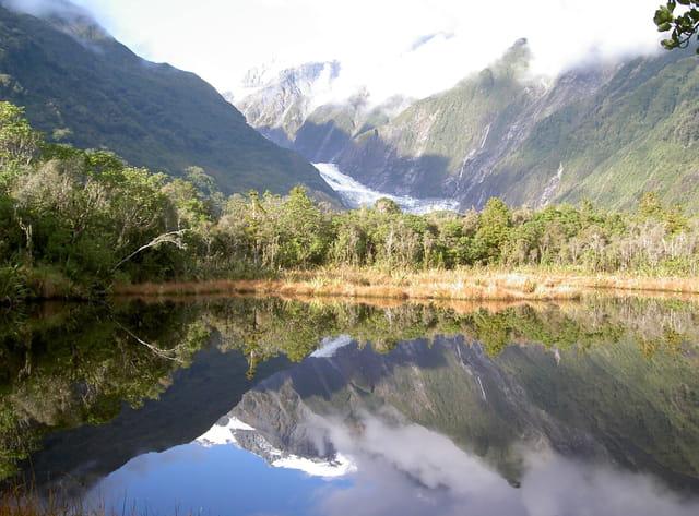 Un lac miroir