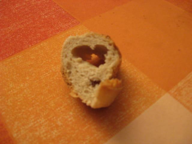 Un morceau de pain qui a failli être mangé...
