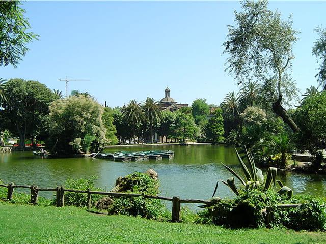 Un parc de barcelone...