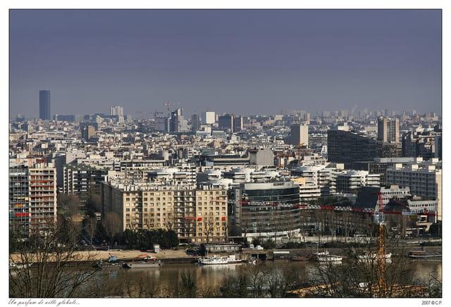Un paysage de ville global