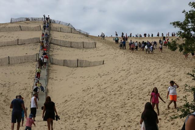 un petit effort. la dune du pilat